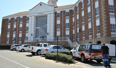 Office space building Fourways